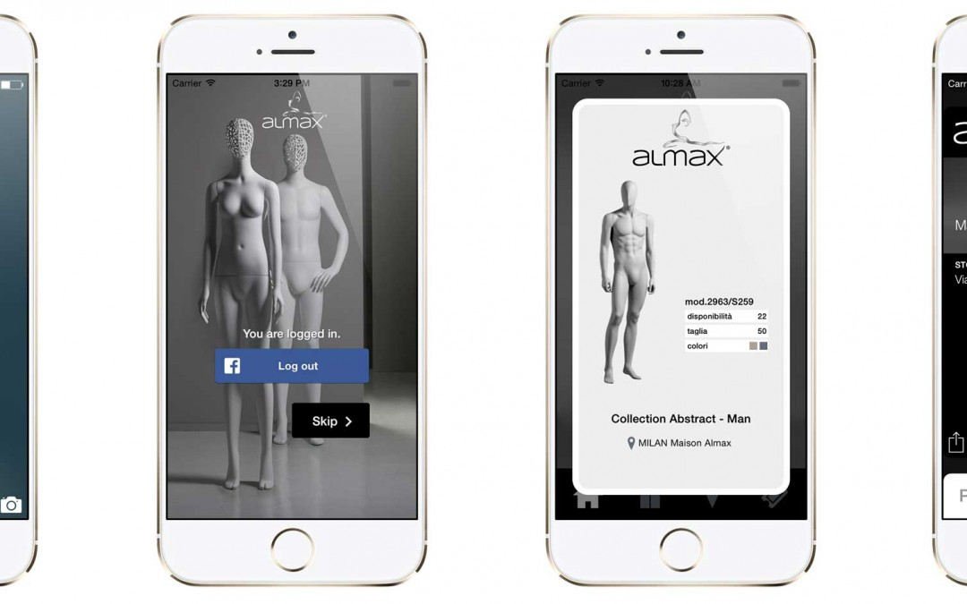 Smart Beacon and Smart Mannequin a new experience for the customers.